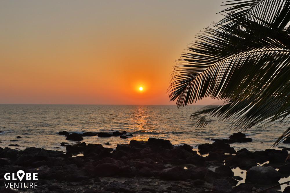 Sonnenuntergang in Arambol