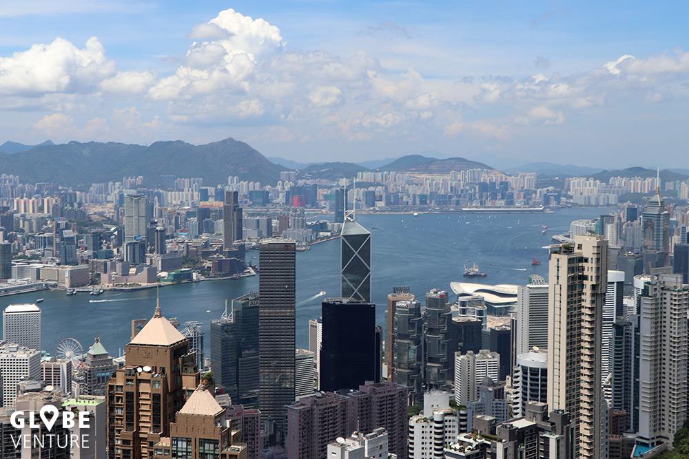 Hong Kong vom Victoria Peak aus